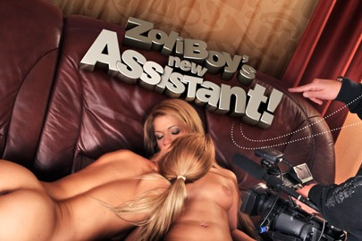 ZoliBoy's new assistant!
