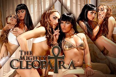 The mighty Cleopatra