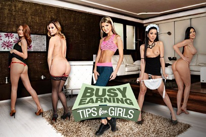 Busy Earning - Tips for Girls