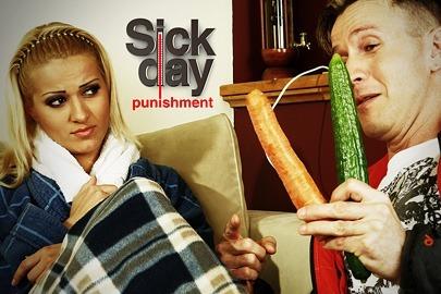 Sick day punishment