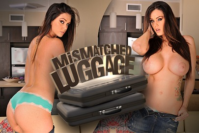 Mismatched luggage