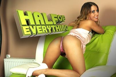 Half of everything