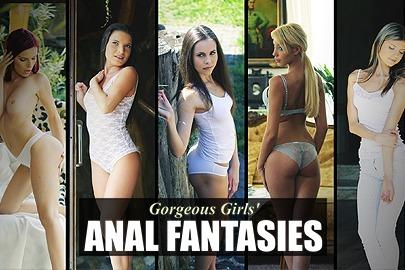 Gorgeous Girls' Anal Fantasies