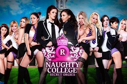 Naughty College: Secret Orgies