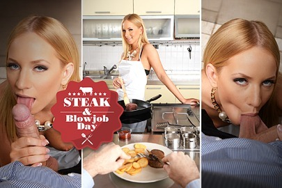 Steak & Blowjob Day