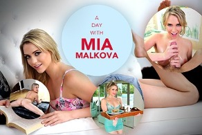 A day with Mia Malkova