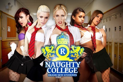 Naughty College: Brand New Students
