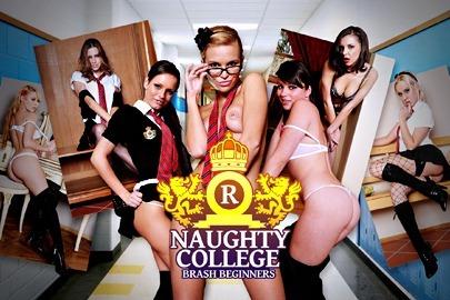 Naughty College: Brash Beginners