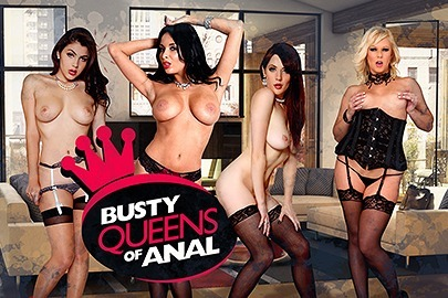 Busty Queens of Anal