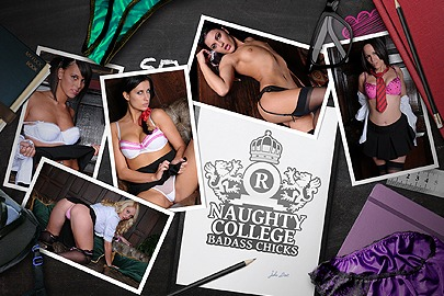 Naughty College: BadAss Chicks