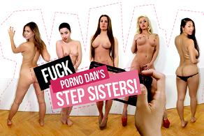 Fuck Porno Dan's Step Sisters!