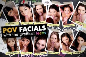 POV Facials with the Prettiest Teens