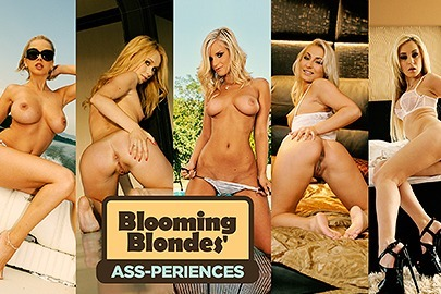 Blooming Blondes' Ass-periences