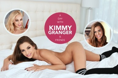 A day with Kimmy Granger & friends