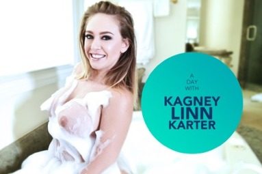 A day with Kagney Linn Karter