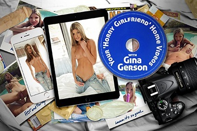 Your 'Horny Girlfriend' Home Video with Gina Gerson