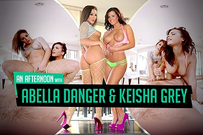 An Afternoon with Abella Danger & Keisha Grey