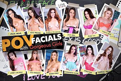 POV Facials with Gorgeous Girls