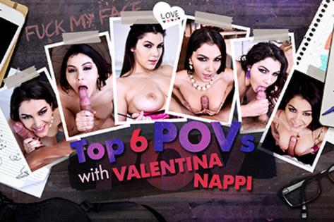 Top 6 POVs with Valentina Nappi