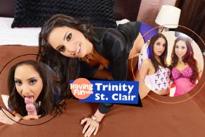 Having Fun with Trinity St. Clair