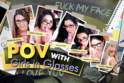 POV with Girls in Glasses
