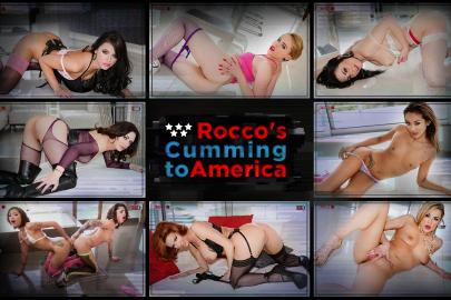 Rocco's Cumming to America