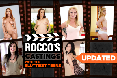 Rocco's Castings with the Sluttiest Teens