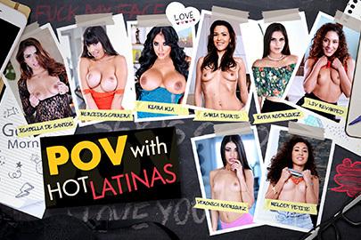 POV with Hot Latinas