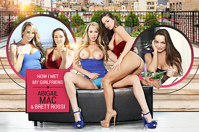 How I met my girlfriend Abigail Mac & Brett Rossi