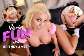 Having Fun with Britney Amber