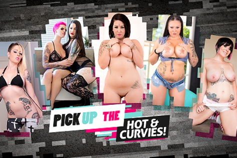 Pick Up the Hot & Curvies
