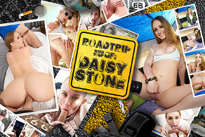 Roadtrip with your GF - Daisy Stone