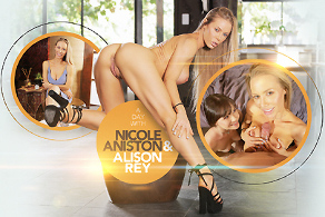 A day with Nicole Aniston & Alison Rey