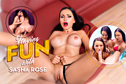 Having Fun with Sasha Rose