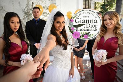 Wedding Weekend with Gianna Dior & Bridesmaids