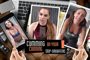 Cumming on Your Cunning Step-Daughters