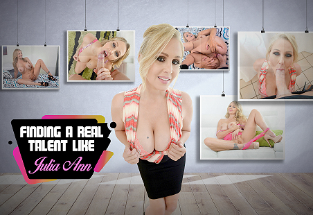 Finding a Real Talent like Julia Ann