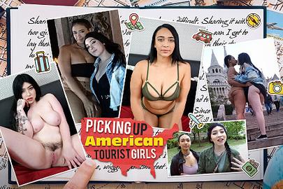 Picking up American Tourist Girls