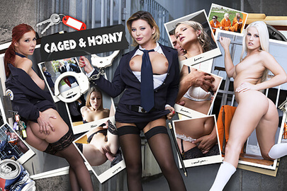 Caged and Horny