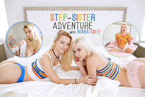 Step-Sister Adventure with Kiara Cole