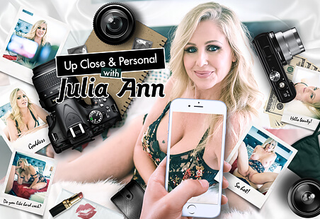 Up Close & Personal with Julia Ann