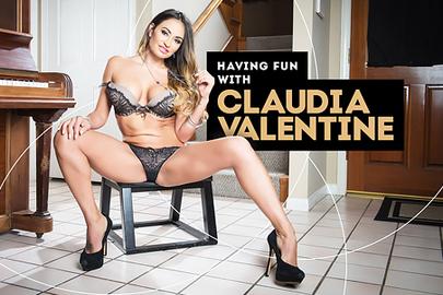 Having Fun with Claudia Valentine