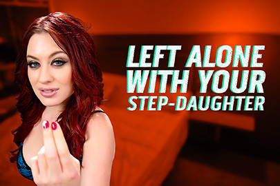 Left Alone with Your Step-Daughter