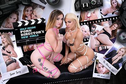 Self-Made Porn Director's New Girls