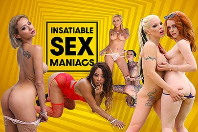 Insatiable Sex Maniacs