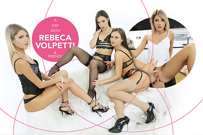 A day with Rebecca Volpetti & Friends
