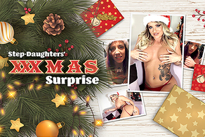 Step-Daughters' XXXmas Surprise