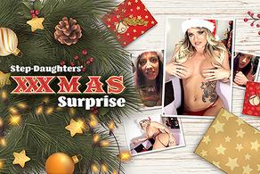 Step-Daughters' XXXmas Surprise