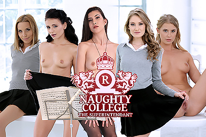 Naughty College - The Superintendant