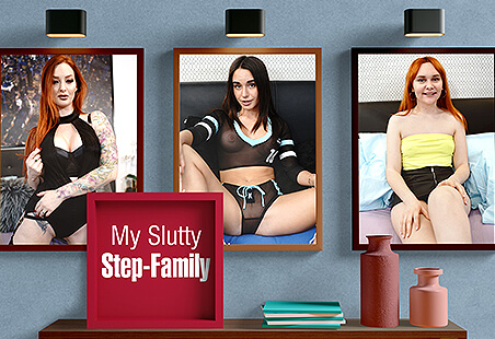My Slutty Step-Family